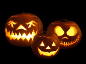 Jack-o'-lanterns - Photo from William Warby