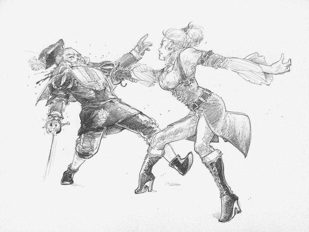 rapierfight