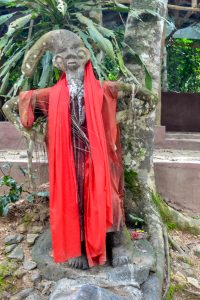 Statue of Ogun shrine at the Sacred Grove Of Oshun - Photo by Yeniajayiii