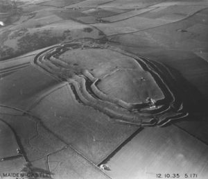 Aerial photograph by Major George Allen